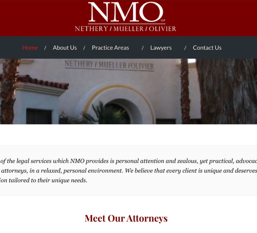 NMO – Legal services